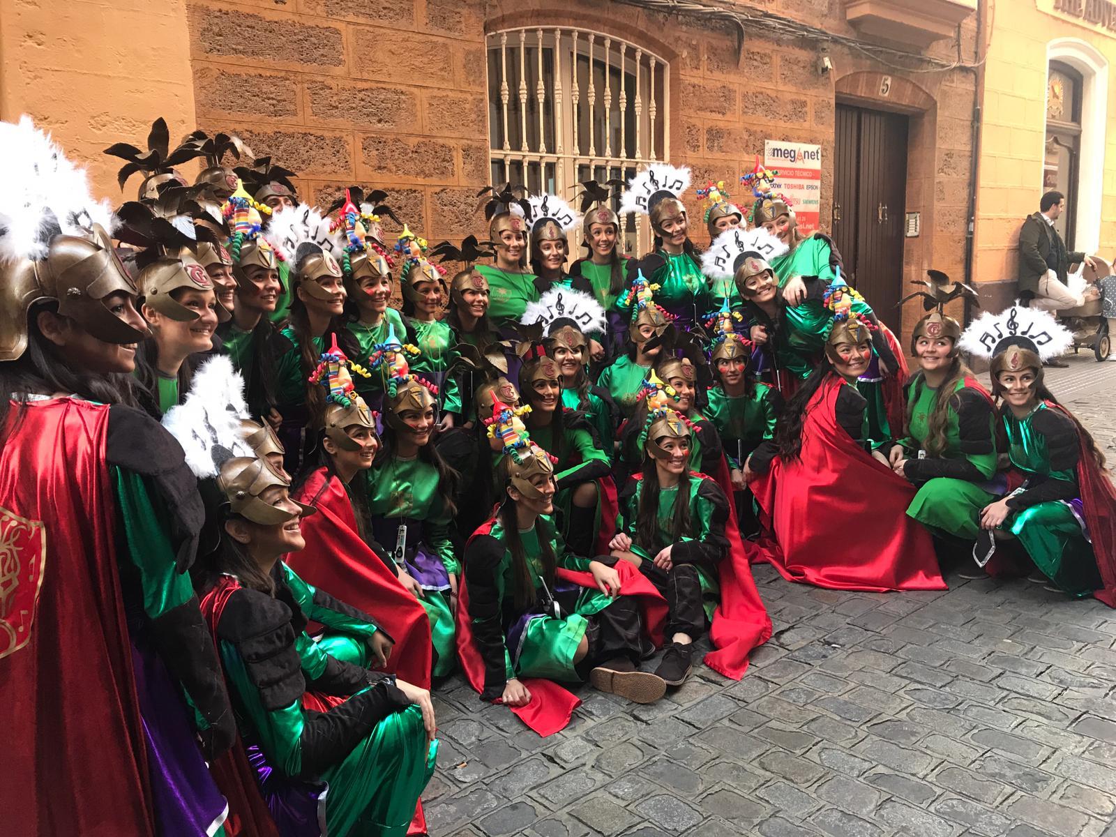 Calendario Coac 2019.Actuacion De Nuestro Coro Juvenil Juego De Coros En La 1ª Semifinal